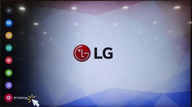 lg tv all settings