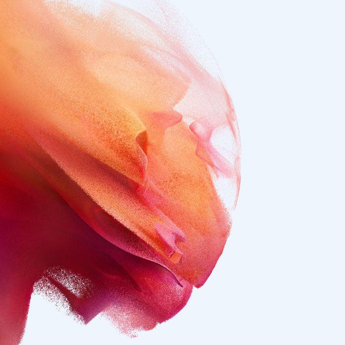 galaxy s21 phantom pink wallpaper light