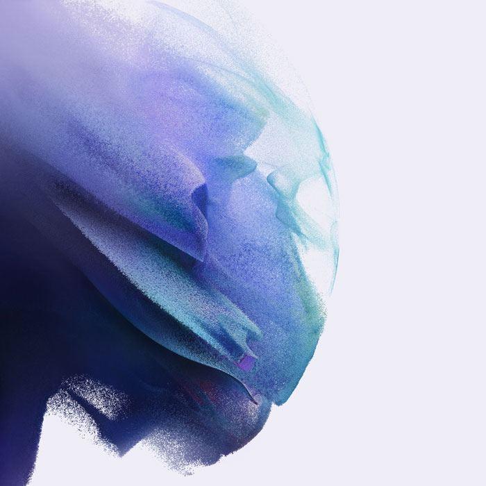 galaxy s21 phantom blue wallpaper light
