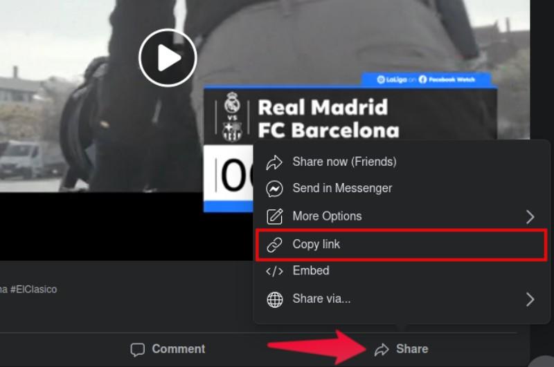 copy URL for mac Facebook video downloader